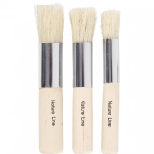 Nature Line Stencil Brushes - 3 pack